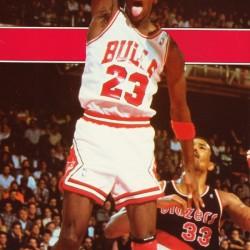 1987 michael jordan chicago stadium poster