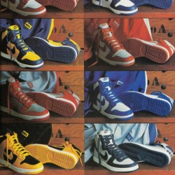 Retro Nike Shoes 1987 Nike Shoe Ad Be True to Your School Poster