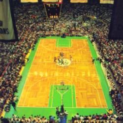 1988 Boston Celtics Boston Garden Art