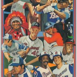 1977 Atlanta Braves Art