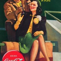 1940 Coke Advertisement Art