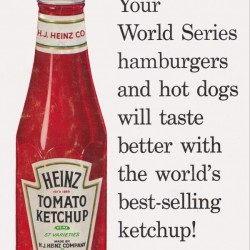Vintage Heinz Ketchup Ad