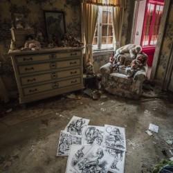 Abandoned Alice In Wonderland Room