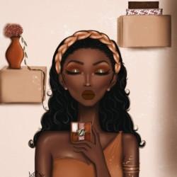 Aisha the beauty blogger by Awa Alade