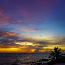 Colorful Caribbean Sky at Grand Cayman