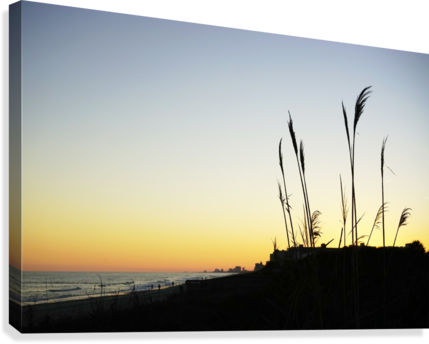 Atlantic Sunset @ Myrtle Beach Canvas print