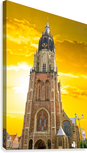 A Dream of the Netherlands 4 of 4  Canvas Print