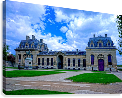 Chateaus of France 7  Canvas Print