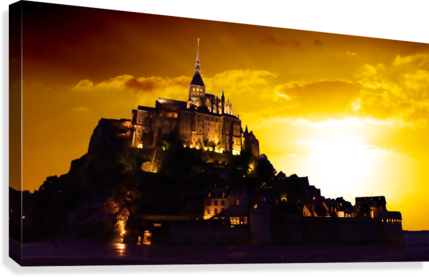 Majestic Mount Saint Michael Panorama