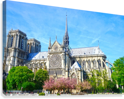 NOTRE DAME @ PARIS 1NORTH  Canvas Print
