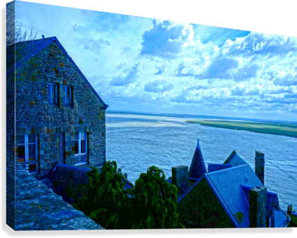 A Day at Mont Saint Michel 11 of 12  Canvas Print