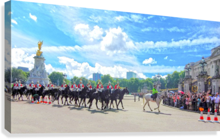 Changing of the Guard London United Kingdom  Canvas Print