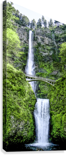 I Dreamed of Waterfalls  Canvas Print