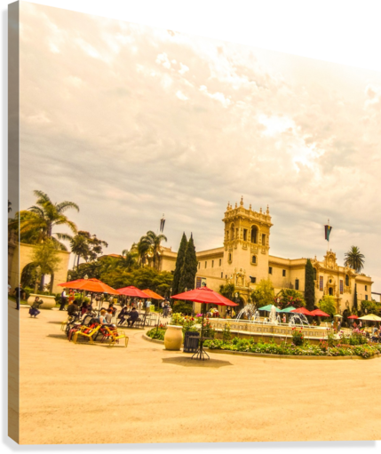 ONE DAY IN SAN DIEGO 360 STUDIOS  Canvas Print