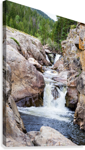 Colorado Waterfall  -  Poudre River