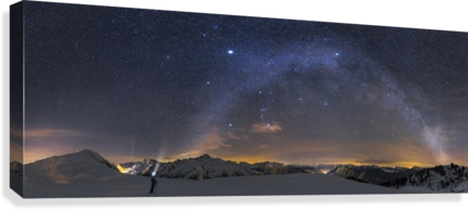 Under the Starbow by Dr. Nicholas Roemmelt  Canvas Print