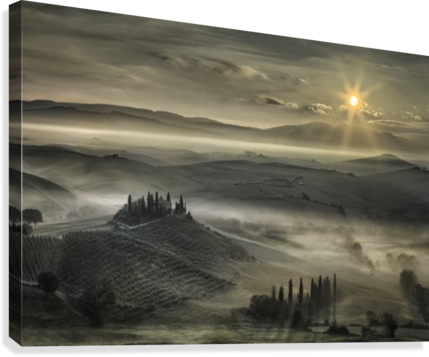 TUSCAN MORNING 1X  Canvas Print