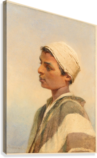 A Bedouin Boy  Canvas Print