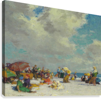 A Summer Afternoon 1910  Canvas Print