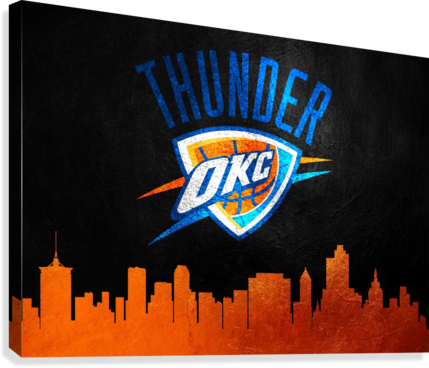 Oklahoma City Thunder  Canvas Print