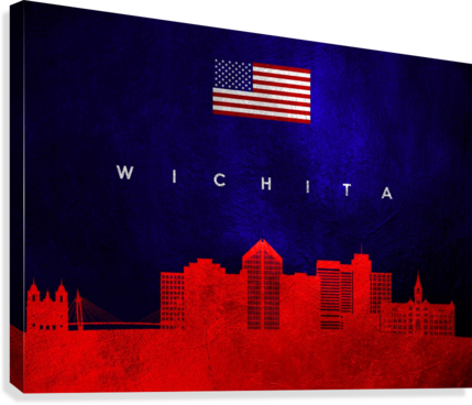 Wichita Kansas  Canvas Print