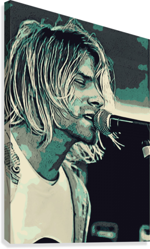 Kurt_Cobain_31  Canvas Print