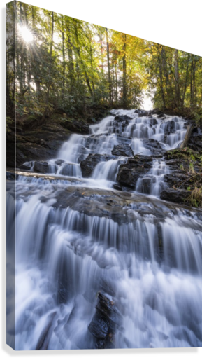 Trahlyta Waterfall  Canvas Print