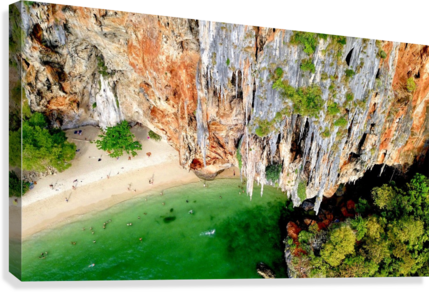Thai From Up High  Canvas Print