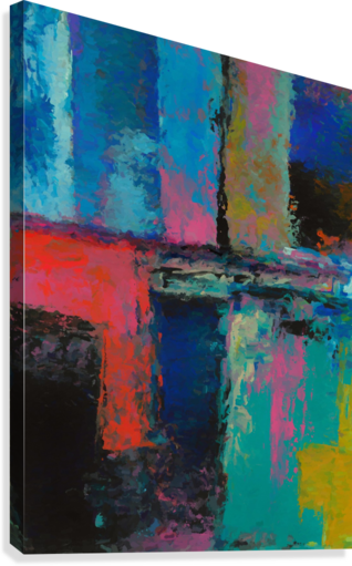 Abstract Composition 1141  Canvas Print