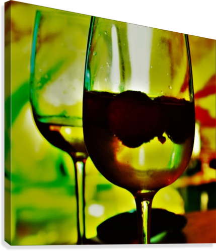 winedown  Canvas Print