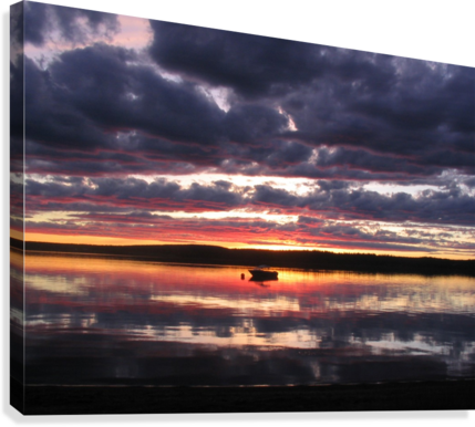 Sunset GL  Canvas Print