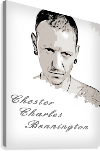 Chester Charles Bennington  Canvas Print