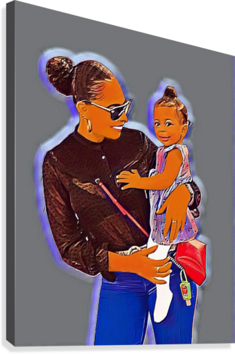 TLC  Canvas Print