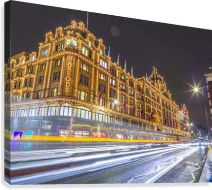 Harrods, London  Canvas Print