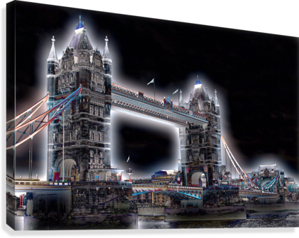 TOWER BRIDGE BENTIVOGLIO PHOTOGRAPHY  Canvas Print