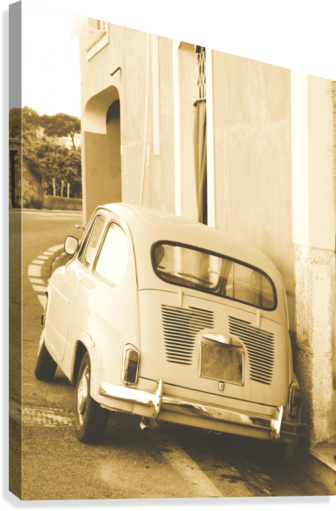 The old Car  Canvas Print