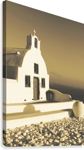The Small Chapel  Canvas Print
