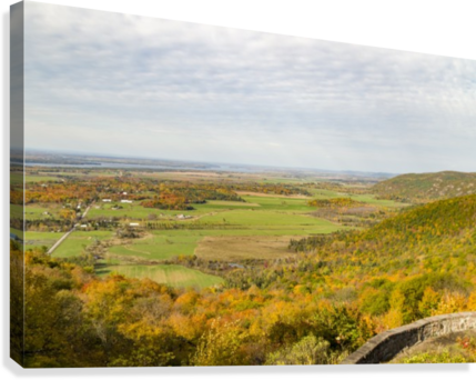 View of Ottawa Valley in Autumn 9  Canvas Print