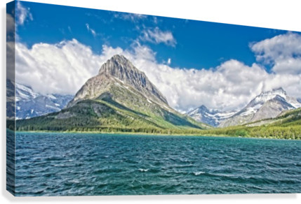 Mount Grinnell  Canvas Print