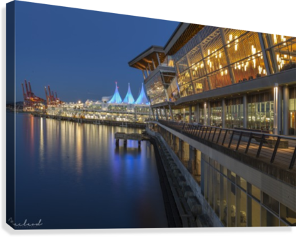 Vancouver Convention Ctr_DSC3889  Canvas Print