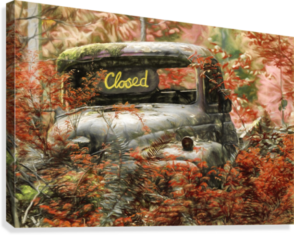 Closed For The Season  Canvas Print