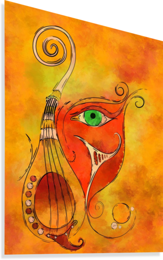 Masquerevue - beauty behind the instrumental mask  Canvas Print