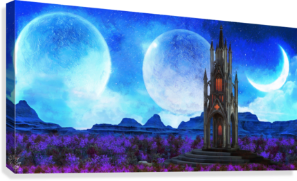 Lonely Spire  Canvas Print