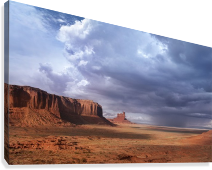 MONUMENT VALLEY 3 CHRISTOPHER DORMOY  Canvas Print