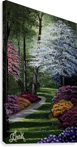 Spring in the Park  Canvas Print