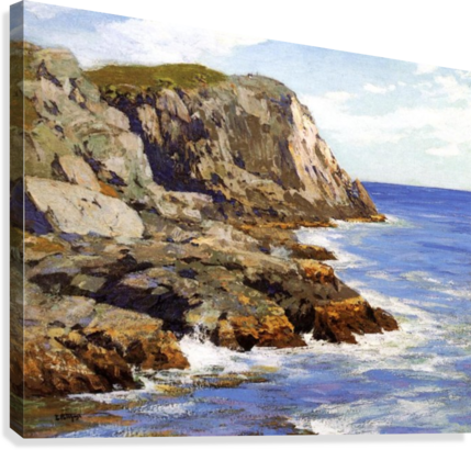 Cliffs and the sea landscape