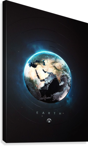 Destination Earth  Canvas Print