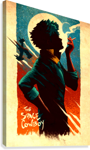 Spike COWBOY BEBOP  Canvas Print