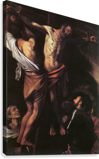 Crucifixion of Sant Andrew  Canvas Print