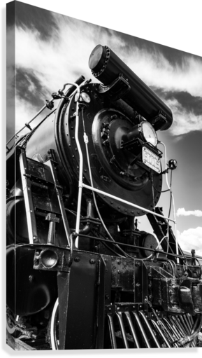 Canadian Steam Locomotive 6015 B  Canvas Print